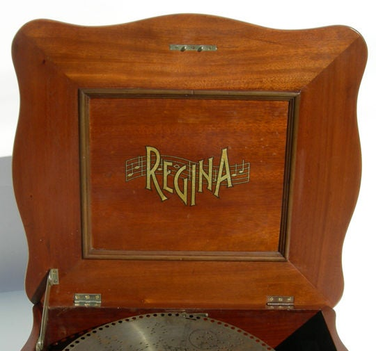 Music Box With Metal Disc Metal Disc Music Box Image