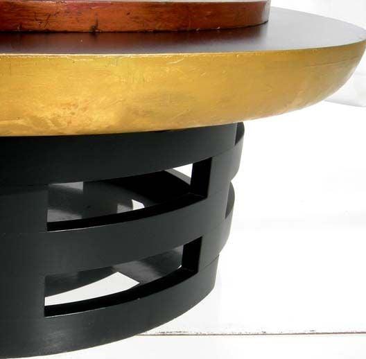 Roulette end table