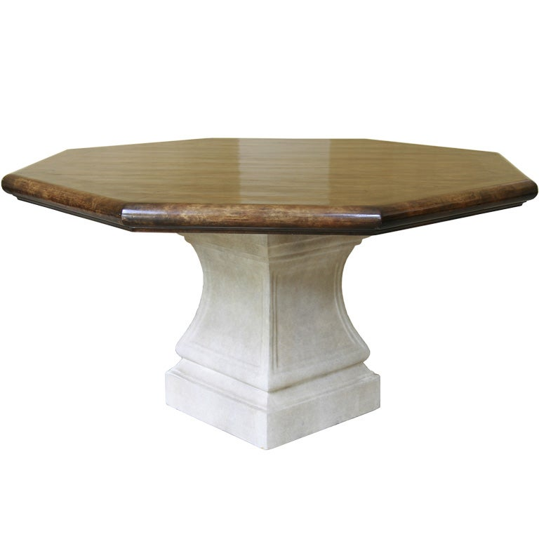 octagonal michael taylor dining table at 1stdibs