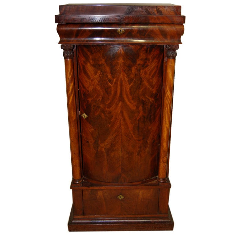Circa 1825 mahogany biedermeier cabinet at 1stdibs for Furniture 1825