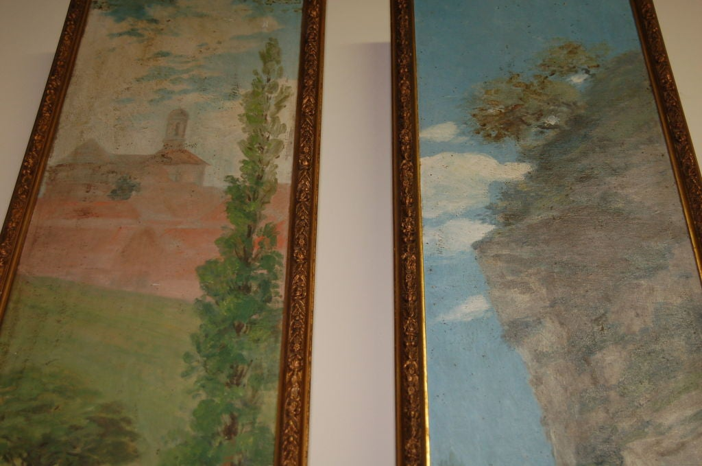 Pair of 19th Century Oil Paintings on Board 4