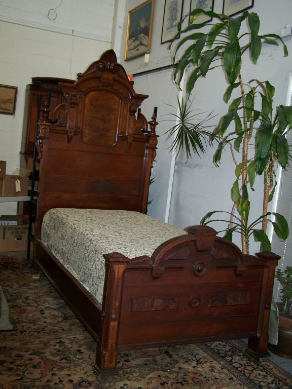 Twin Size Victorian Bed At 1stdibs