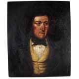 Small 19C  Portrait  of a Gentleman
