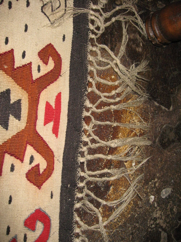 Balkan Sharkoy Antique Kilim For Sale
