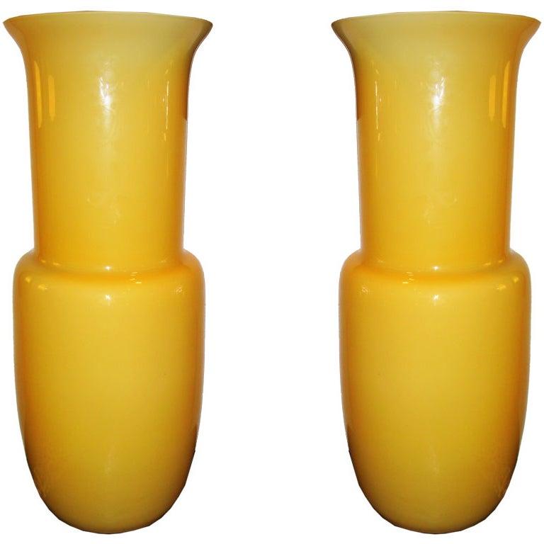 Pair  of  Murano Vase