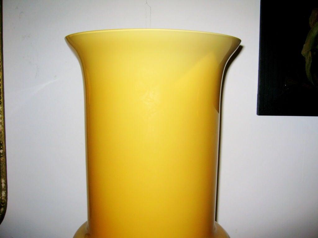Italian Pair  of  Murano Vase
