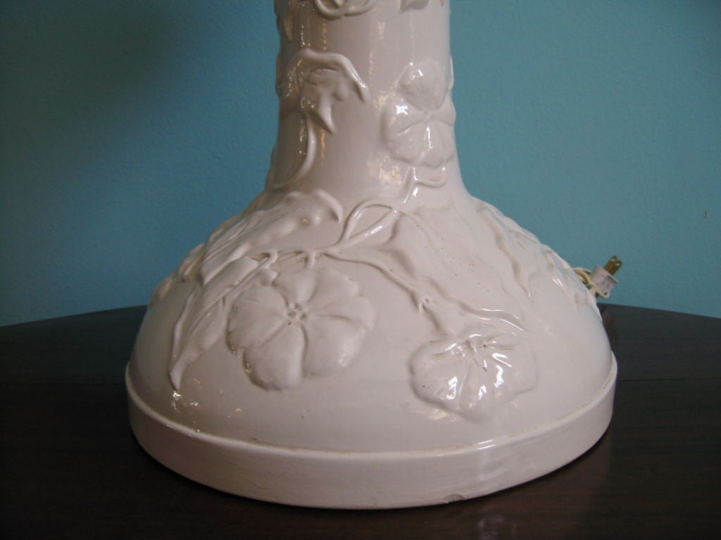 Hand-Crafted French Art Nouveau Table Lamp For Sale