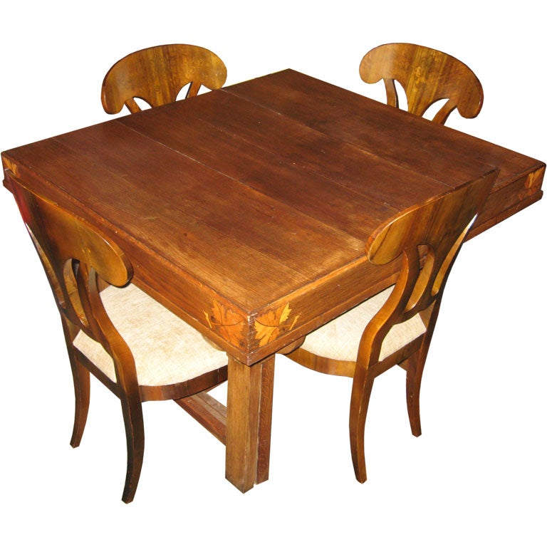 Art nouveau table at 1stdibs for Artistic dining room tables