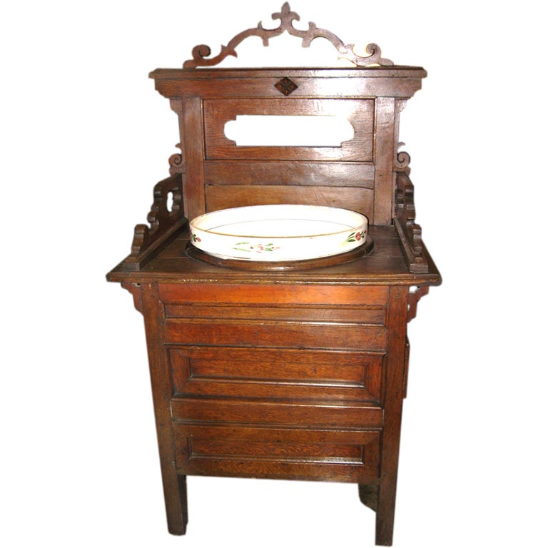 italian antique wash stand at 1stdibs. Black Bedroom Furniture Sets. Home Design Ideas