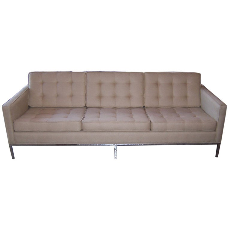knoll style sofa at 1stdibs. Black Bedroom Furniture Sets. Home Design Ideas