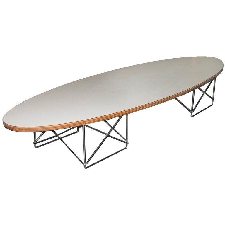 diminutive eames etr low table at 1stdibs