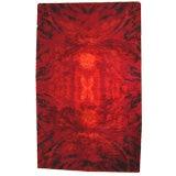 Scottish wool, high pile 60's carpet