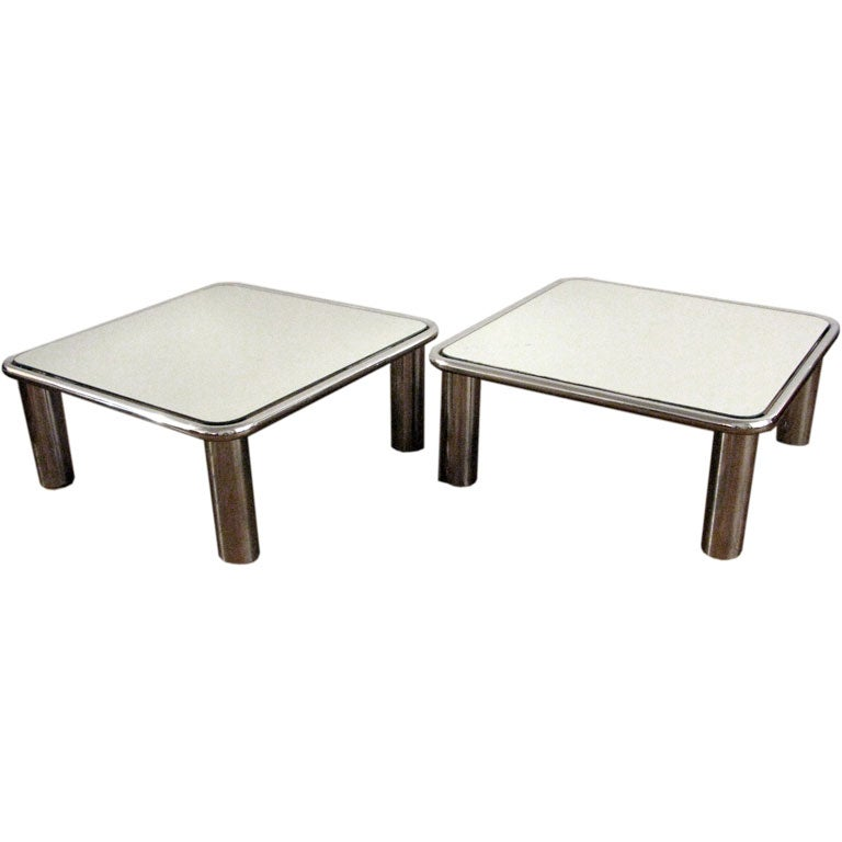 Montaperto - Mario Bellini - Pair of Coffee Tables by Mario