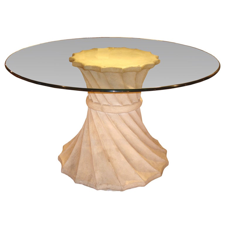Plaster Composition Pedestal Table at 1stdibs : dsc04400 from www.1stdibs.com size 768 x 768 jpeg 35kB