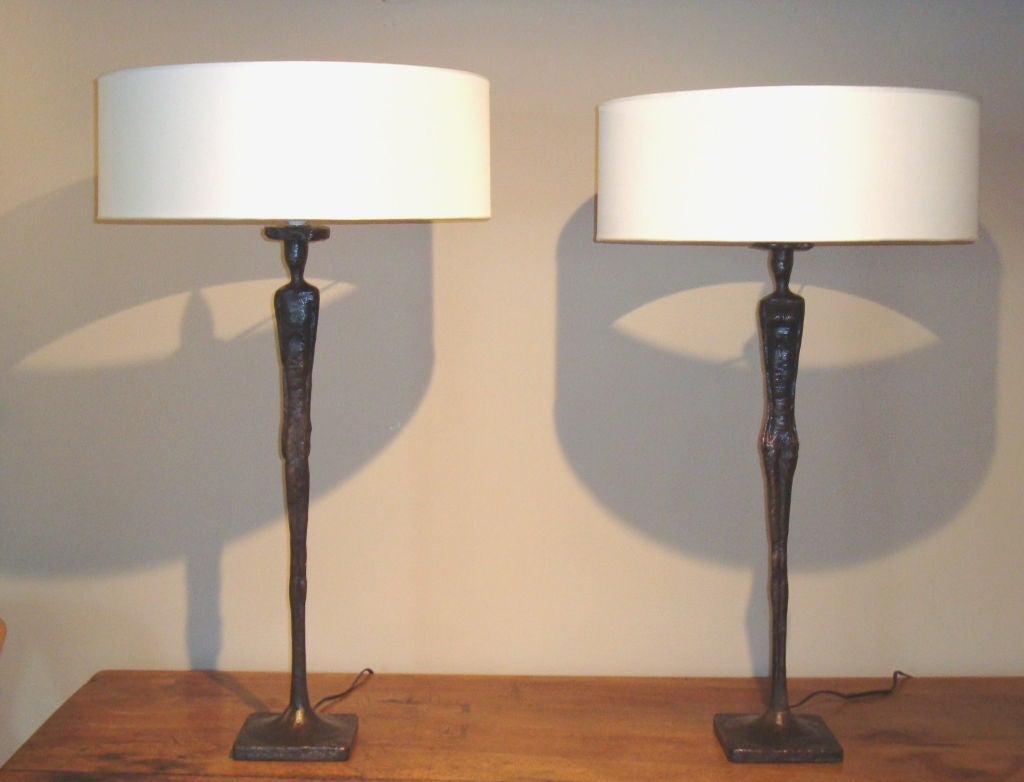 Pair Of Quot Barbie And Ken Quot Lamps At 1stdibs