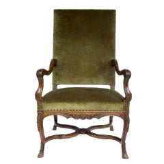 Regence Walnut Armchair