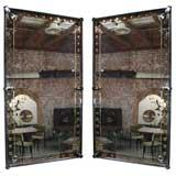 Pair of 50's Large Murano Mirrors