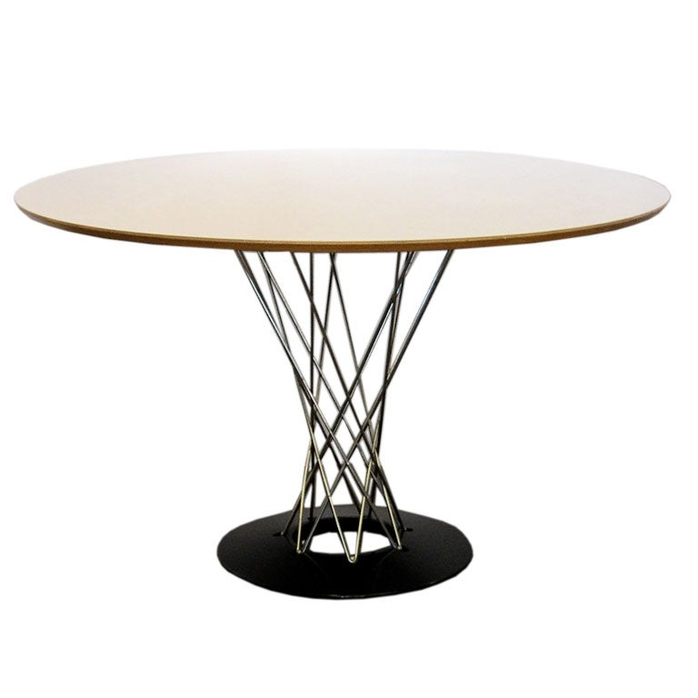Full Size Round Dining Table By Noguchi For Knoll At 1stdibs