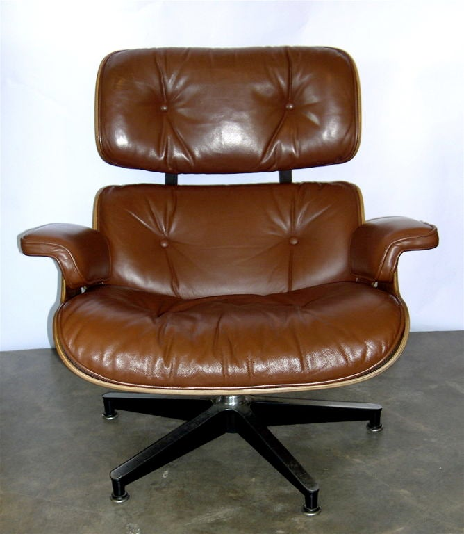 Rare Original Eames 670 And 671 In Rosewood And Burnt