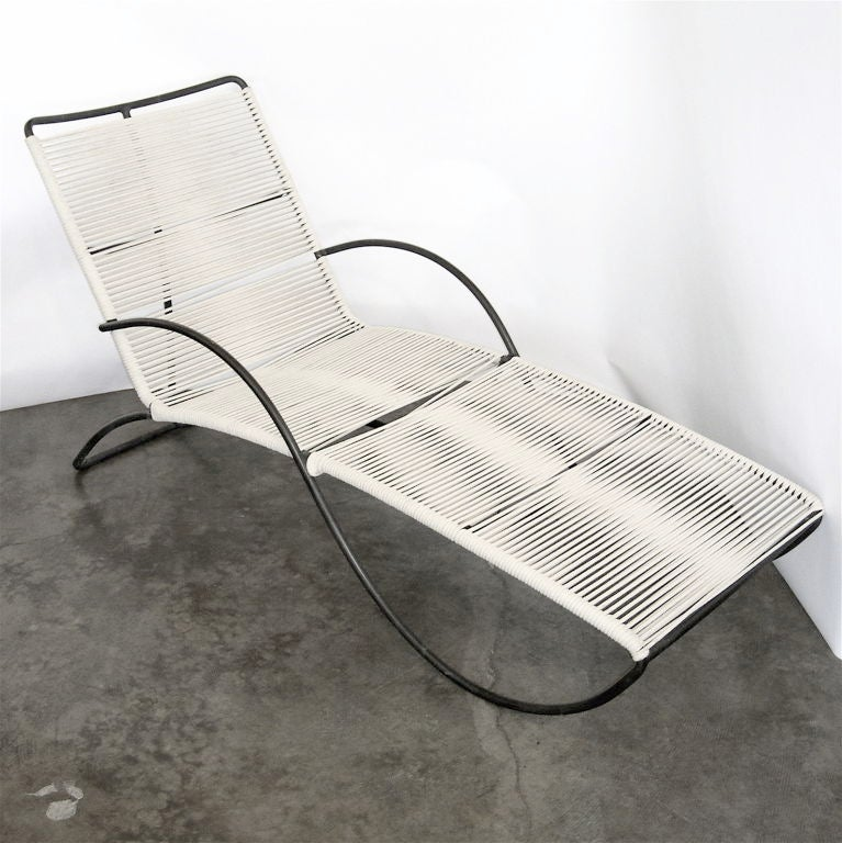Fantastic s lounge by walter lamb for brown and jordan for Brown and jordan chaise lounge