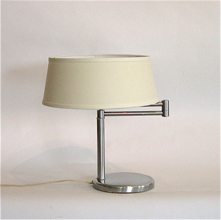 this original swing arm table lamp by nessen is no longer available. Black Bedroom Furniture Sets. Home Design Ideas