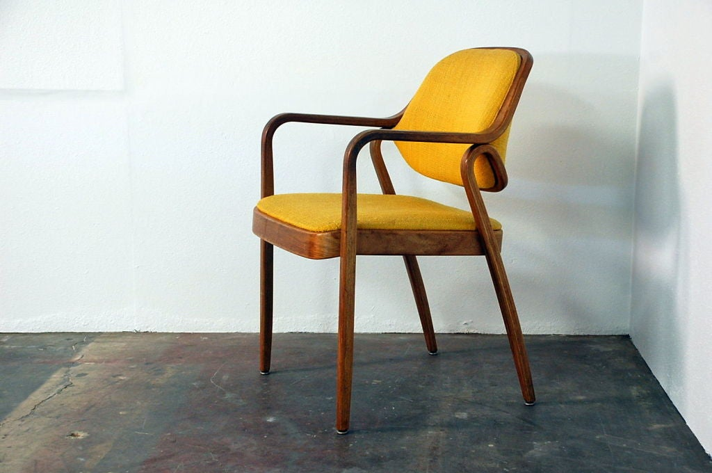 Set of original knoll dining chairs at stdibs