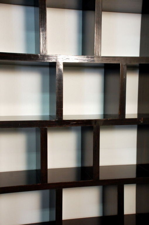 cubist art deco ebonized tag re at 1stdibs. Black Bedroom Furniture Sets. Home Design Ideas