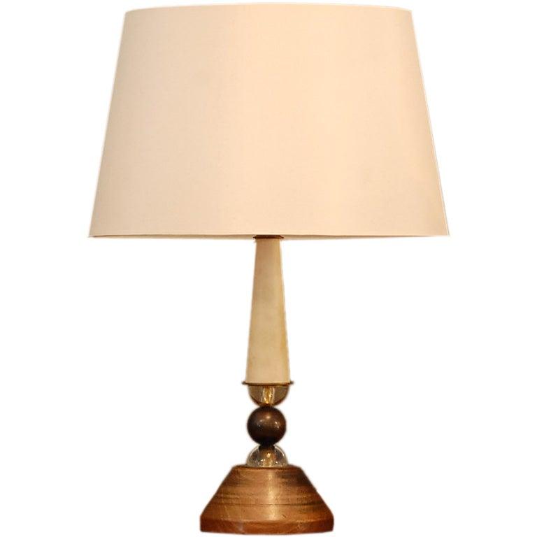 Luxury Elegant Brass Desk Lamp For Sale At 1stdibs