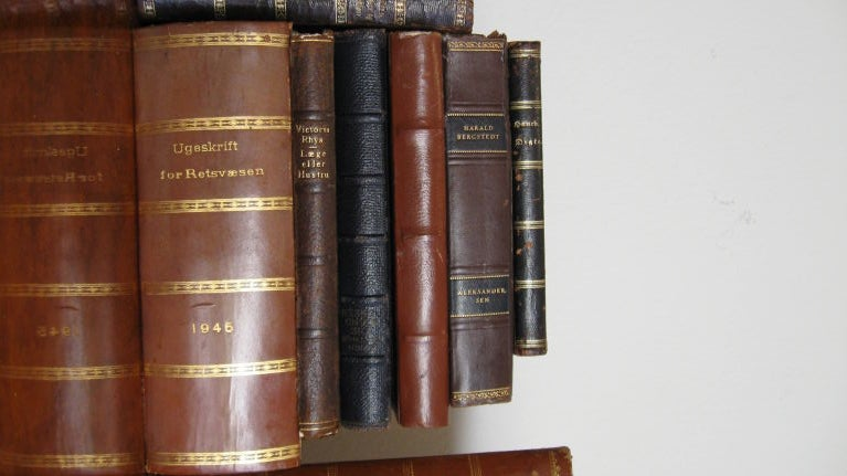 SET OF FORTY  ANTIQUE BOOKS image 5