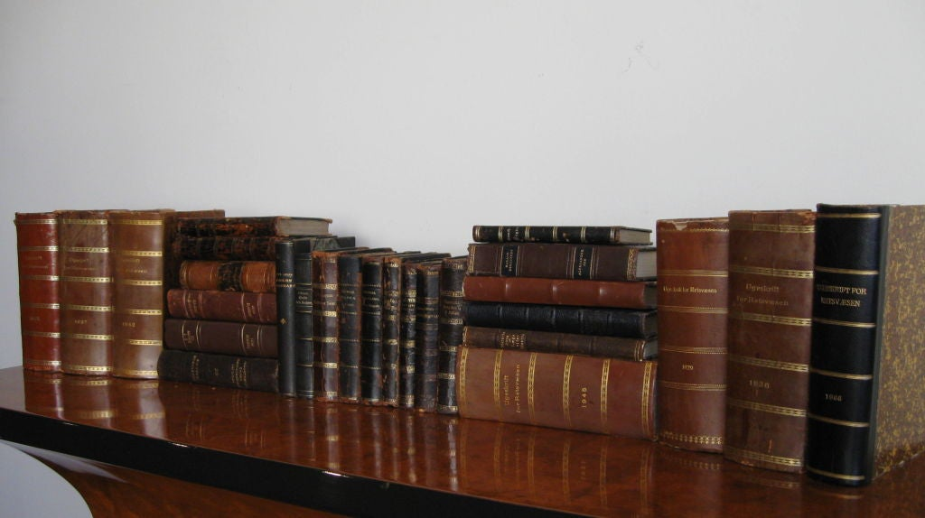 SET OF FORTY  ANTIQUE BOOKS image 6