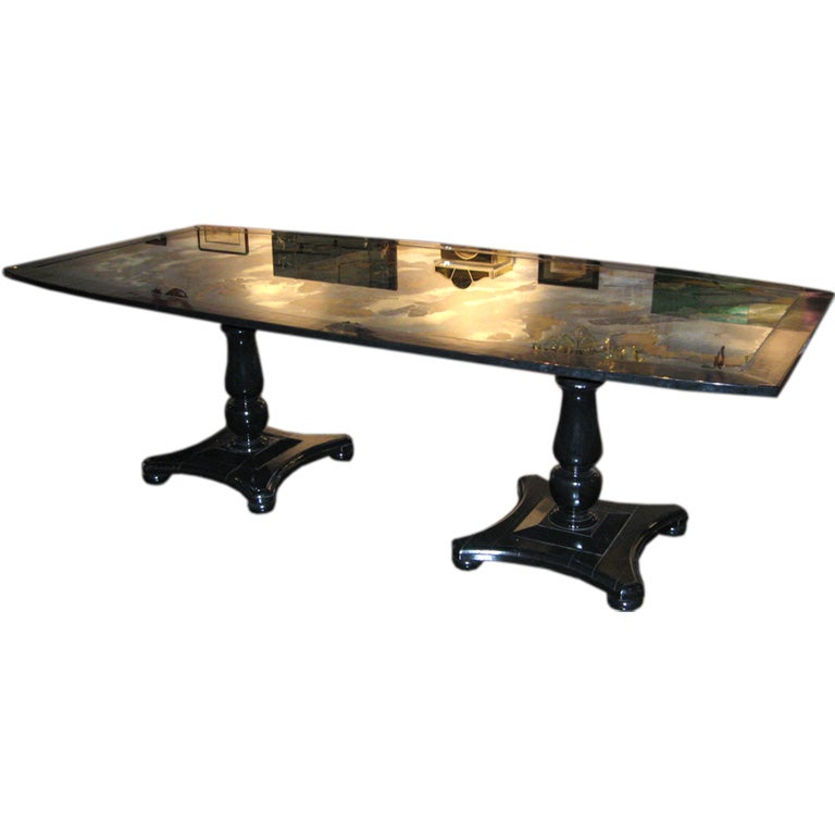 this double pedestal dining table is no longer available