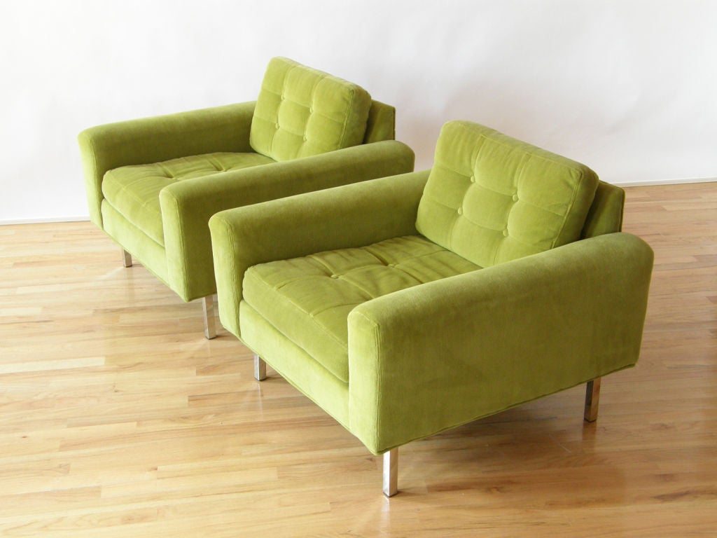 Milo Baughman lounge chairs 2