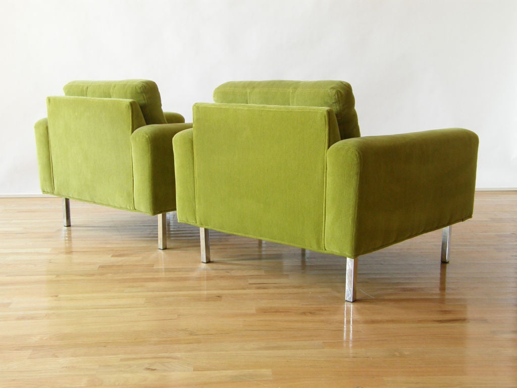 Milo Baughman lounge chairs 3