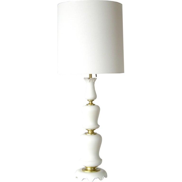 Gerald Thurston porcelain lamp