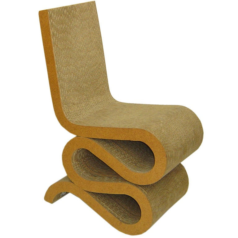 Frank Gehry Wiggle Chair Easy Edges At 1stdibs
