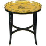 Charming Tole Tray Table