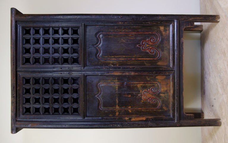 carved kitchen cabinet doors cabinet with carved doors at 1stdibs 5130