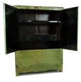 Green Lacquered Cabinet image 3