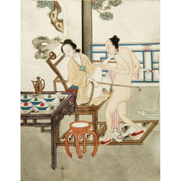 Chinese Erotic Pillow Book For Sale