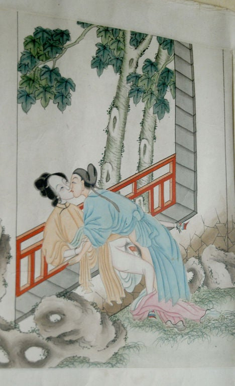 erotic art chnese Ancient