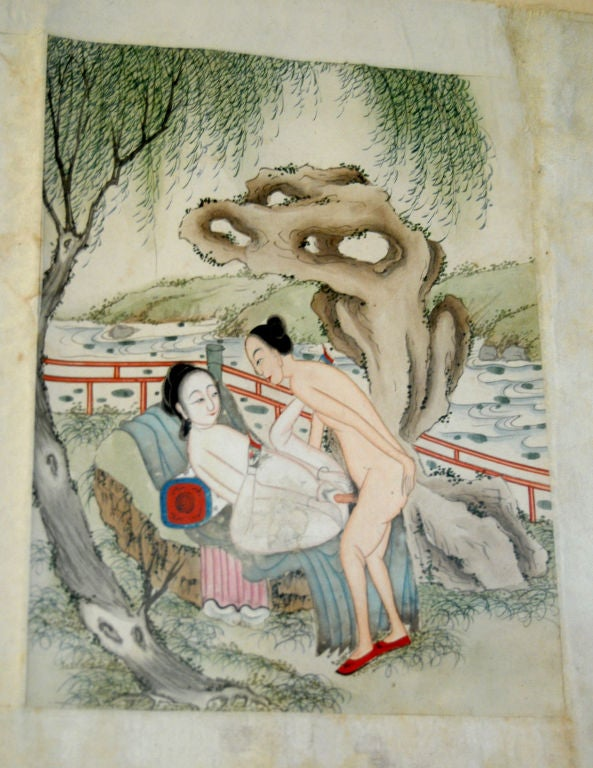 Chinese Erotic Pillow Book For Sale 3