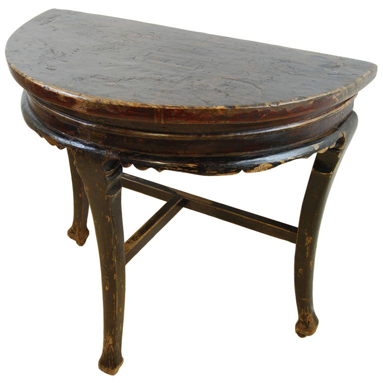 half moon table at 1stdibs