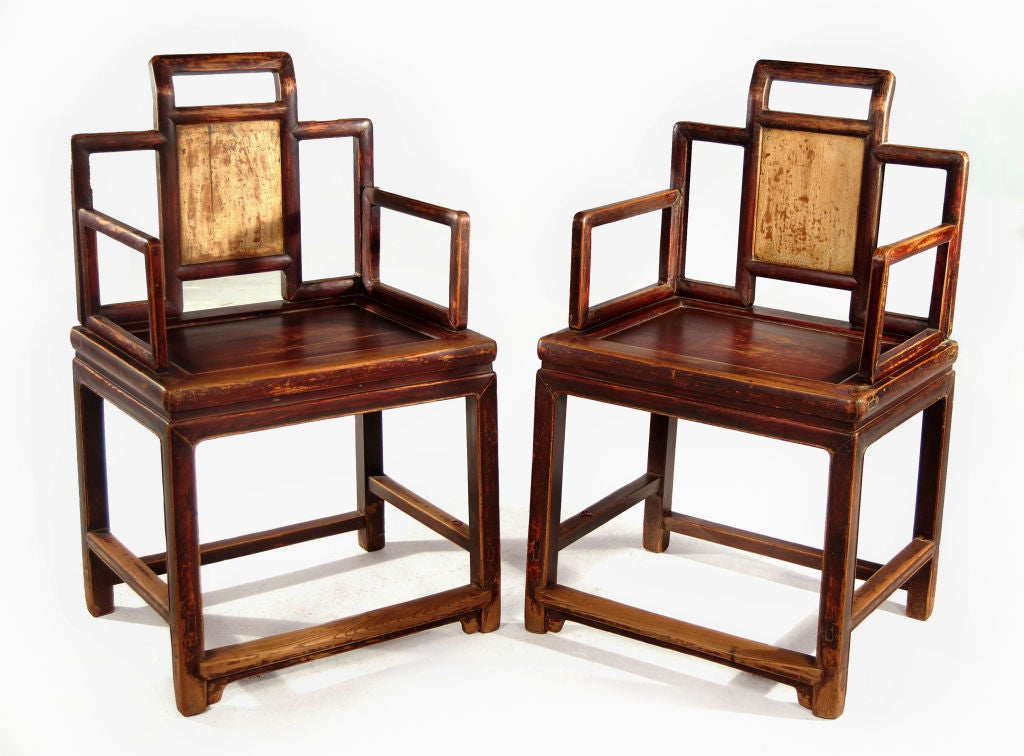 pair of provincial chairs at 1stdibs
