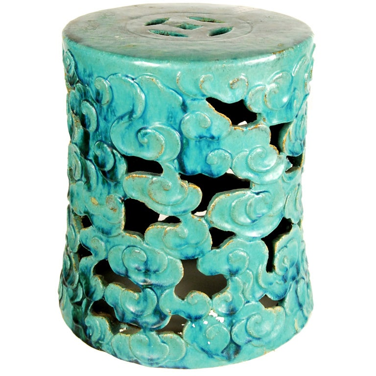 Chinese Garden Stool At 1stdibs