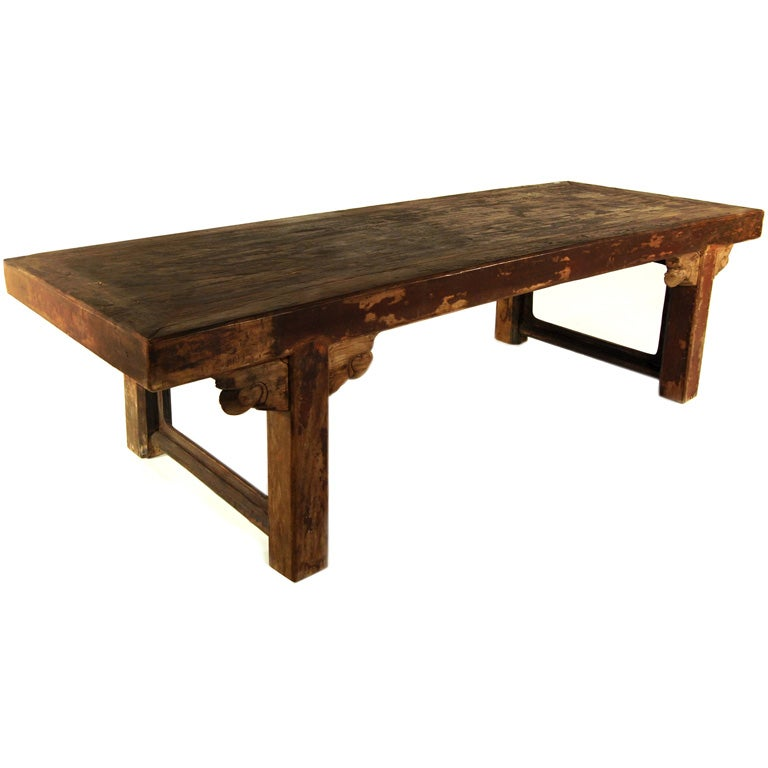 Provincial chinese dining table at 1stdibs