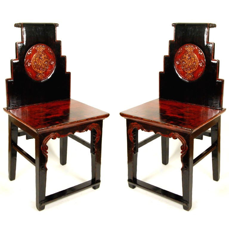 Pair of chinese chairs for sale at 1stdibs for Oriental furniture for sale