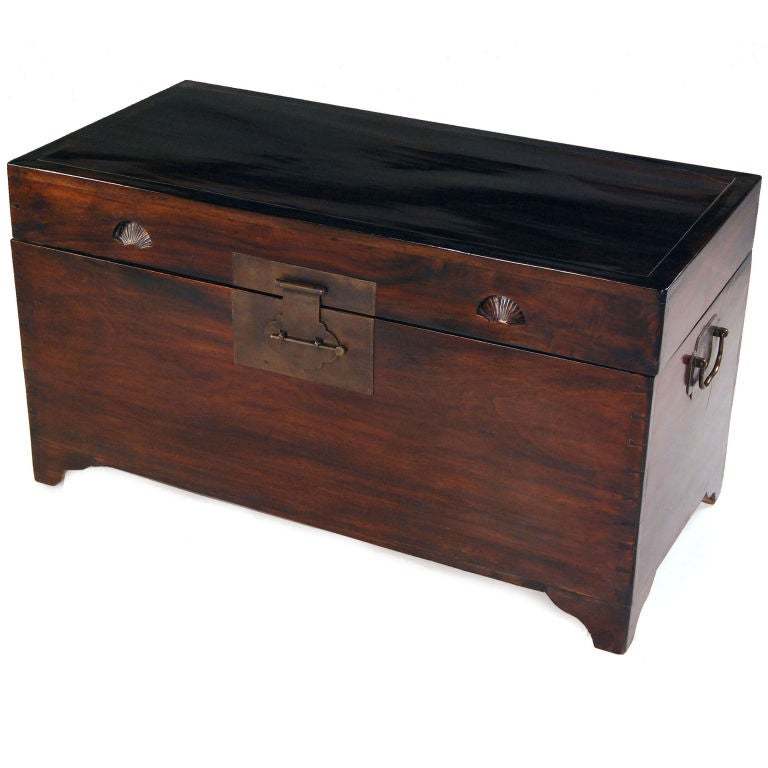 robe trunk at 1stdibs With robe bench