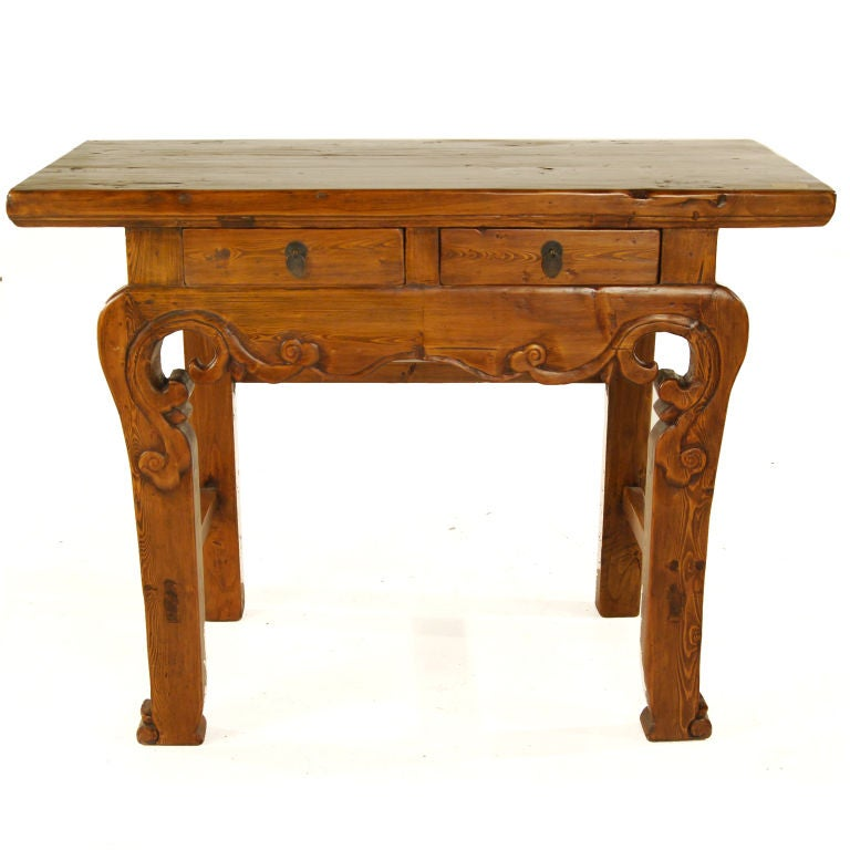 Petite altar table at 1stdibs for Petites tables pliantes