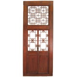 Chinese Lattice Doorway