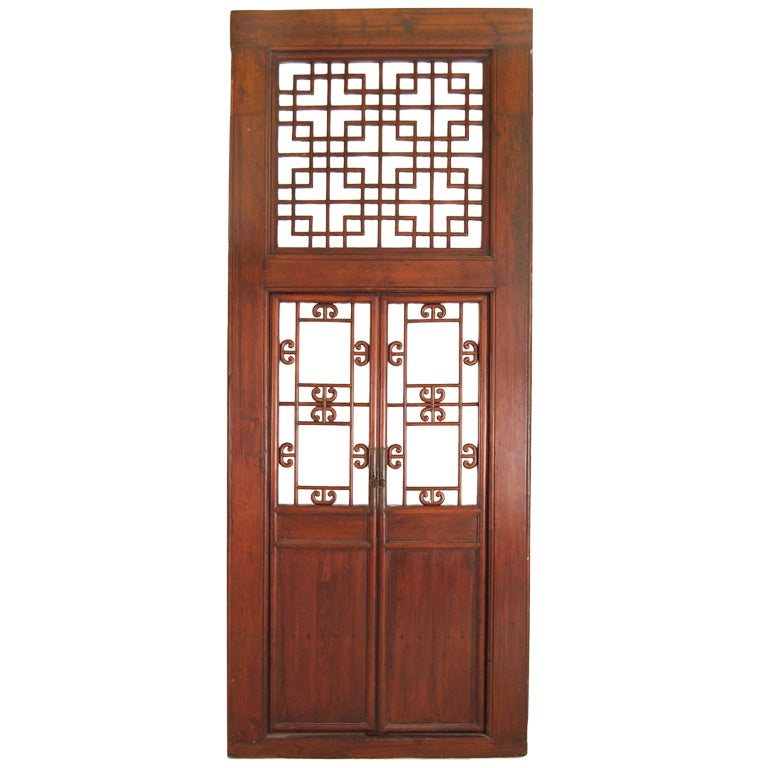 Chinese Lattice Doorway 1